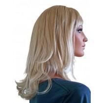 Blonde Perücke mit Platin Blonden Spitzen 40 cm 'BL023'