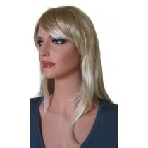 Blonde Perücke mit Platinblonden Highlights 55 cm 'BL025'