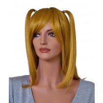 Blonde Cosplay Perücke 70 cm mit 2 Pferdeschwänzen 'CP011'