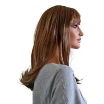 Frauen Perücke brünett 50 cm 'BR022'
