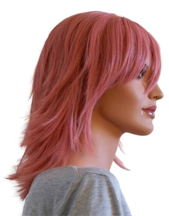 Anime Wig Old Rose Hair 40 cm 'CP025'