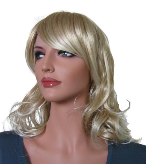 Wig Light Blonde Mix Hair Color 65 cm 'BL018'