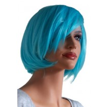 Cosplay Wig Short Haircut Turquoise 'CP001'