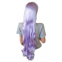 Manga Wig Curly Silver Violet Hair 105 cm 'CP022'