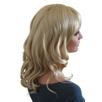 Curly Wig Light Ash Blonde 50 cm 'BL024'