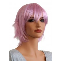 Short Wig for Cosplay Silver Purple 'CP014'
