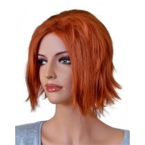 Cosplay Wig Copper Red with Ponytail 70 cm 'CP017'