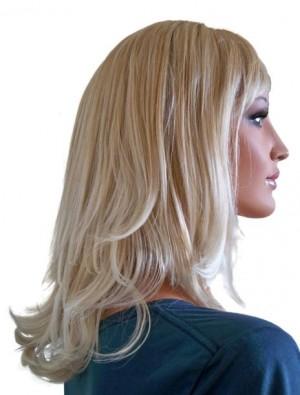 Blonde Wig with Platinum Blonde Hair Tips 40 cm 'BL023'