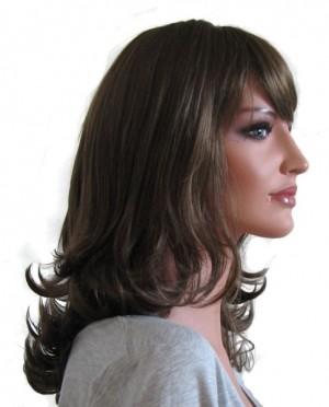Woman Wig 'BR006' Medium Ash Brown 45cm