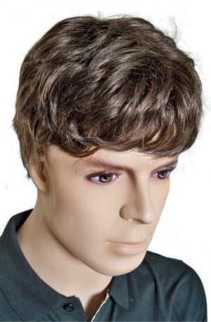 Brown Wig for Men Human Hair 'M005'