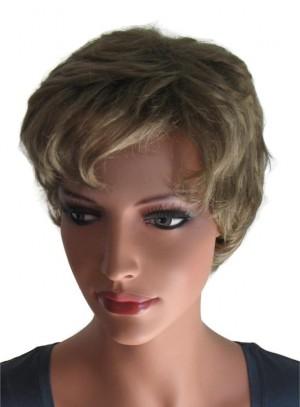 Short Wig for Ladies Light Golden Brown 'BR021'