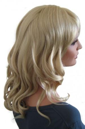 Curly Wig Light Ash Blonde 50 cm 'BL024'