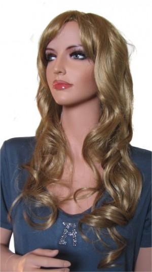 Woman Wig 'R001' Light Strawberry Blond 65cm