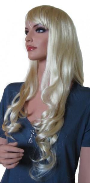 Woman Wig 'BL003' Golden Yellow Blonde 70 cm