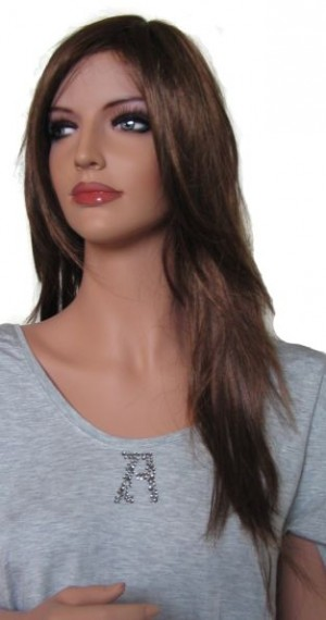 Woman Wig in Mixed Brown 'BR002'  61 cm