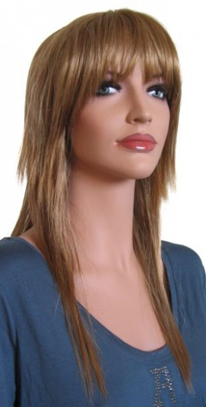 Woman Wig 'R002' Red Blonde 55 cm