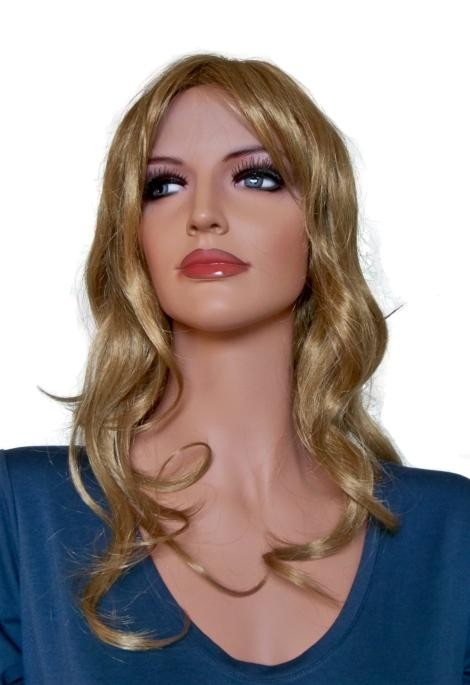 perruque fris e blond v nitien 70 cm 39 bl031 39 perruque femme. Black Bedroom Furniture Sets. Home Design Ideas