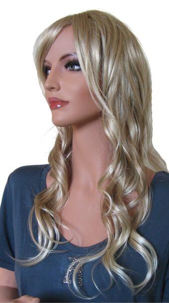 Perruque pour Femme 'BL007' Blonde Mélange 60 cm