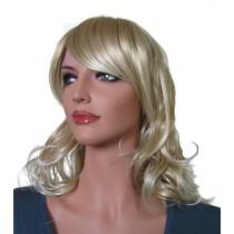 Perruque Blonde Longue Cheveux Artificiels 65 cm 'BL018'