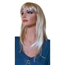 Pruik Licht Blond 50 cm 'BL021'