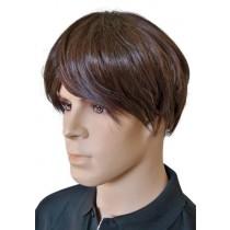 Peruka Emo Kolor Włosów Brązowy 'M006'