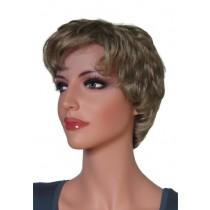 Krótka peruka ciemny blond 'BR021'