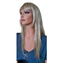 Jasny blond peruka 60 cm 'BL029'