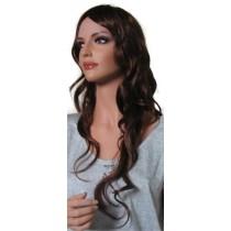Peruka Kasztan z Rubinem dla Kobiet 'BR007' 60cm