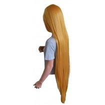 Cosplay paryk ekstra lang gyldne blonde 125 cm 'CP030'