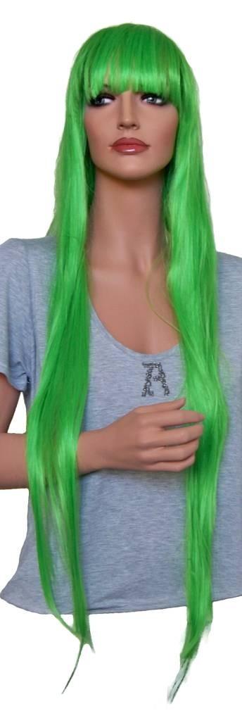 """аниме перука зелен 105 cm """"CP019"""""""
