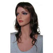 жена перука Тъмно кафяво и Кестеняво 'BR010' 45cm